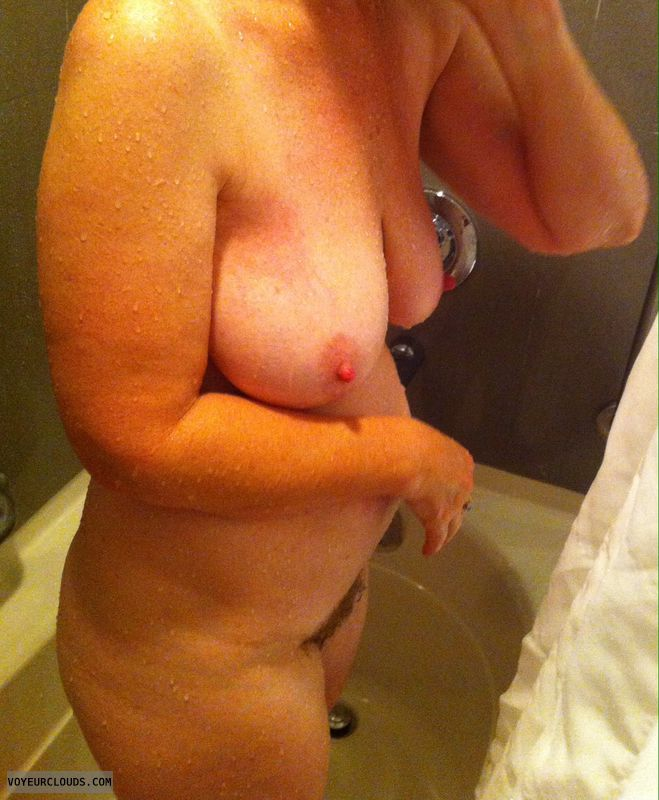 hard nipples, nude woman, erect nipples, big nipples