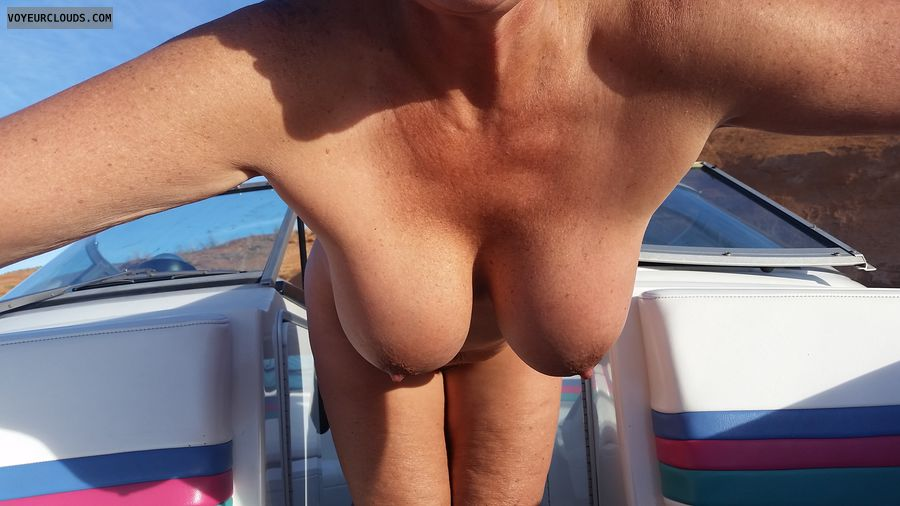 Gilf hangers, Naked boating, Big boobs, nude outdoors