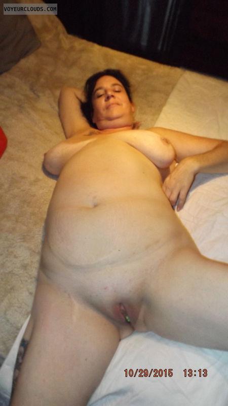 naked wife, naked milf, naked, tits, big tits, hard nipples