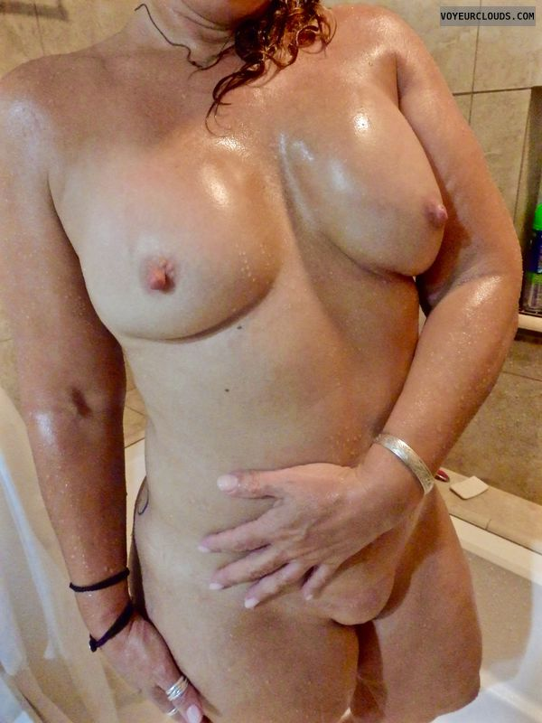 Nude Wife, Nude Milf, Milf tits, Wife Tits, Shower
