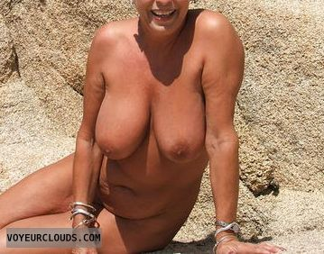 nude wife, naked outdoors, nig boobs, hard nipples