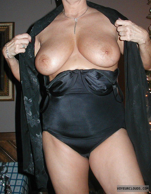 big tits, hard nipples, tits out, wife tits, sexy lingerie