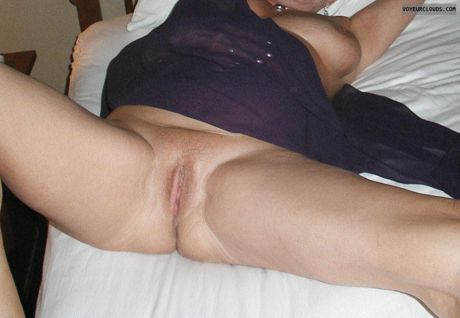 shaved pussy, pink pussy, open legs
