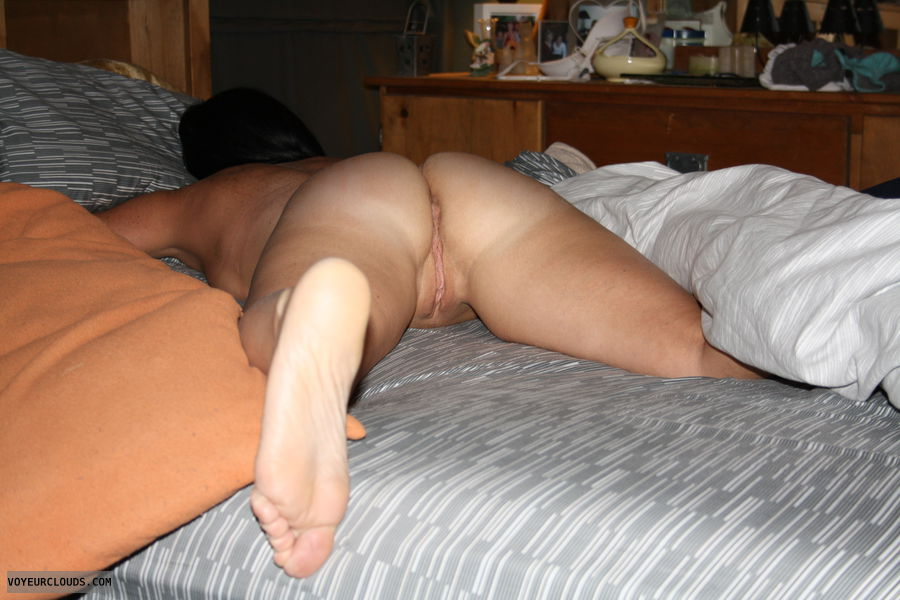 Recollect more Asleep naked on the bed
