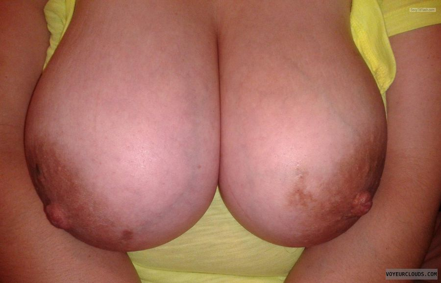 Very big tits, Large areolas, Big nipples