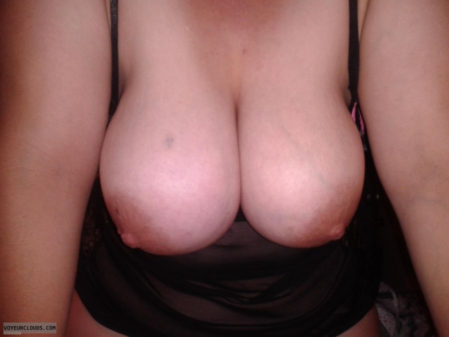 Very big tits, Large areolas, Large nipp, Curvy wife