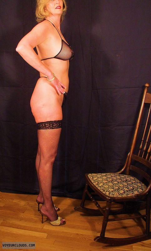 sexy lingerie, long legs, high heels, posing