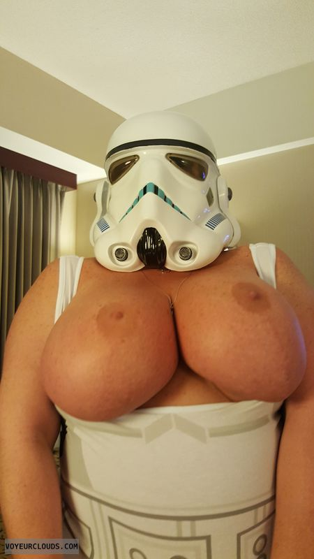 tits out, milf tits, big boobs, big tits, cosplay