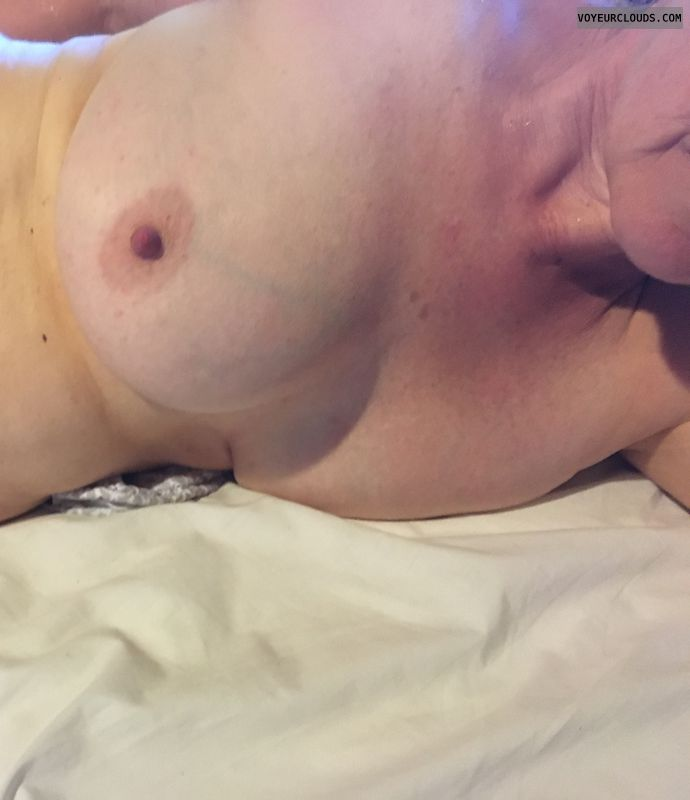 Busty boobs, DD\'s, big tits, hard nipples, nude woman