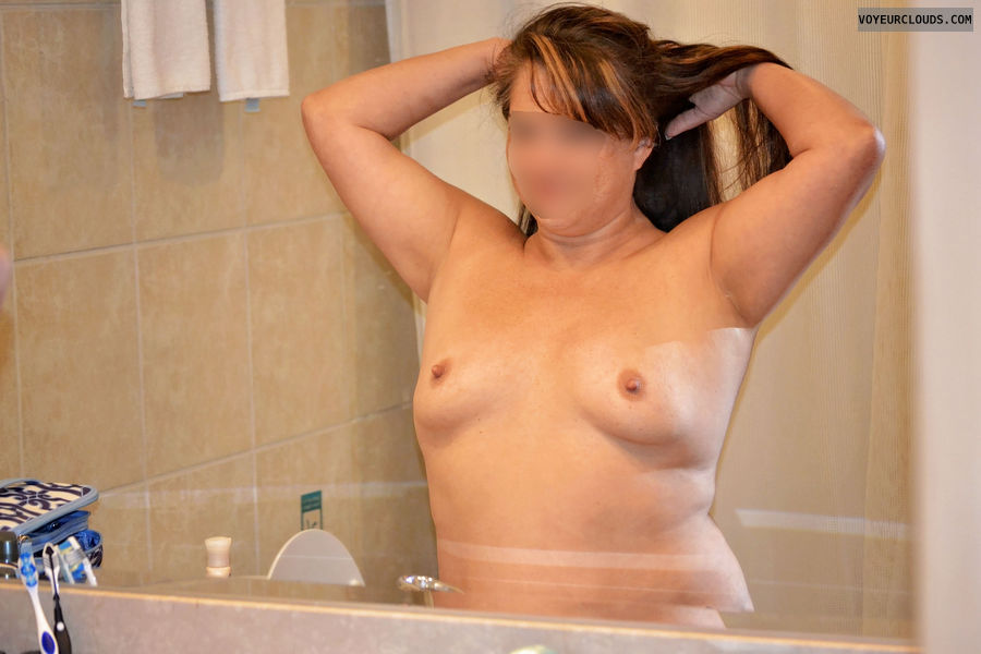 Small Titties, Pink nipples, MILF boobs, Topless