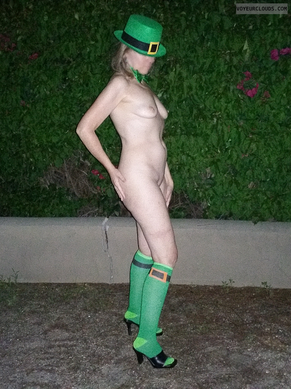 Exhibitionist, Saint Patrick's Day, Nude in Public
