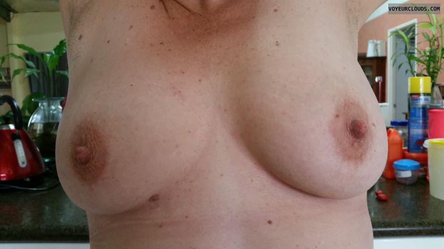 medium tits, milf tits, wife boobs, flashing tits