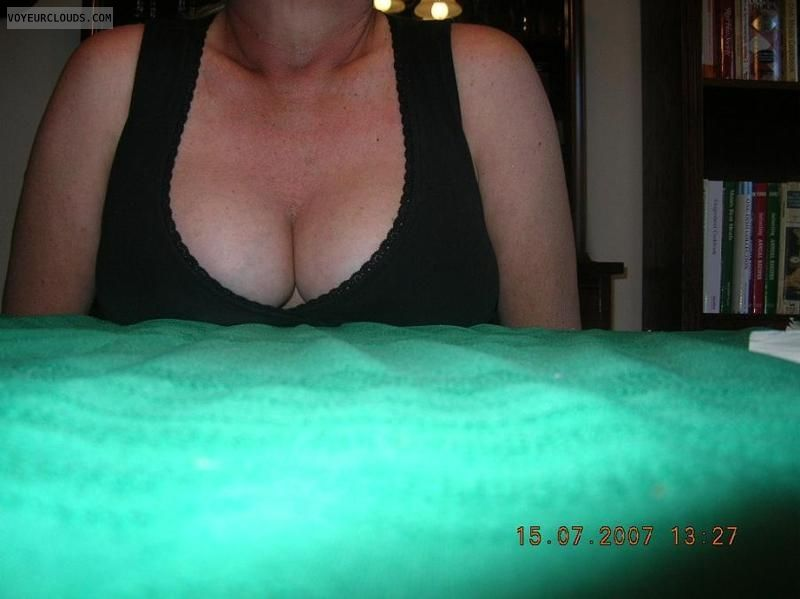 Cleavage, Mature Cleavage, Boobs, Mature tits