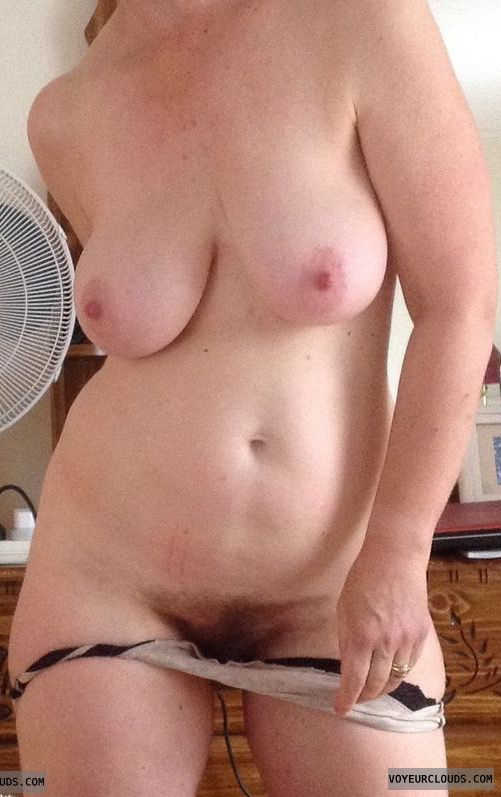 Nude woman, big tits, big nipples, erect nipples, milf