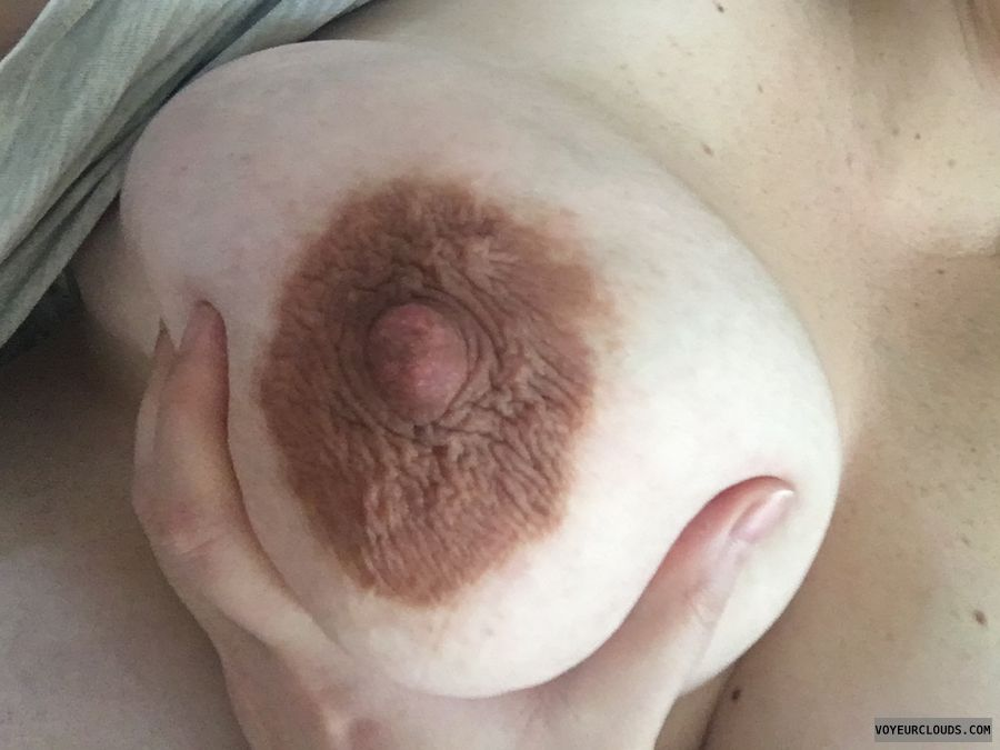 Breasts, big boobs, milf boobs, pregnant, dark areola
