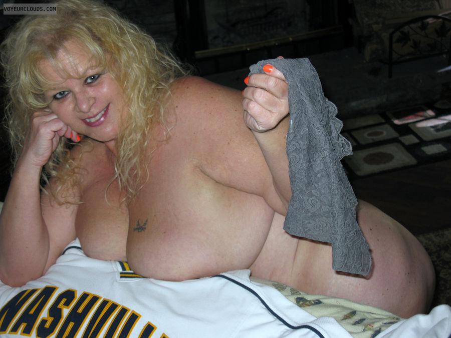 nude wife, wife, blonde, big tits, milf