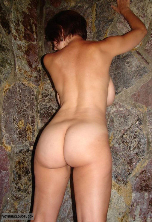 For the nude women backside