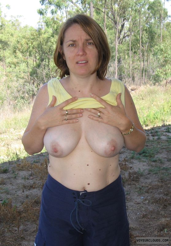 milf, wife, tits, milkers, engorged, swollen