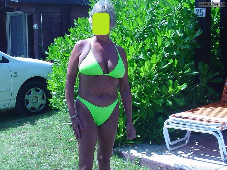 Mature Woman, Bikini