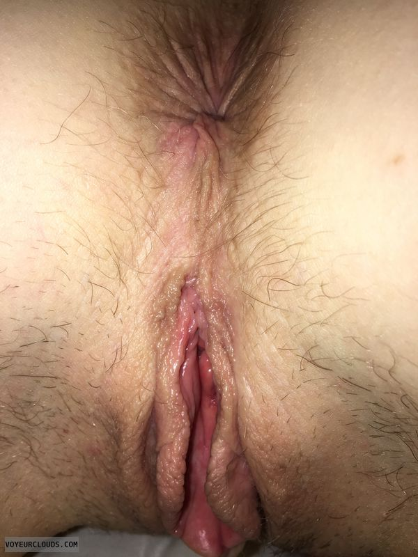 Swollen pussy, wet pussy, pussy lips, pink pussy, asshole