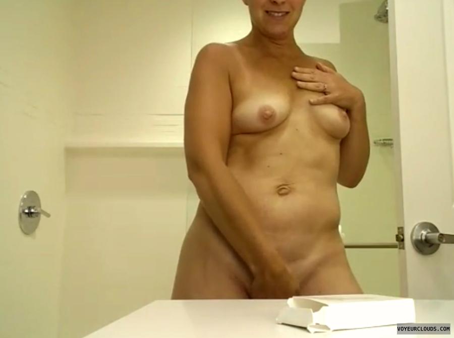 Sexy, Milf, Voyeur, Tits, Nipples, Lips, Tease, Masturbation