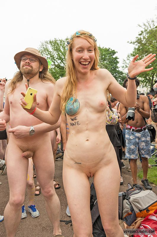 wnbr, shaved, hard nipples