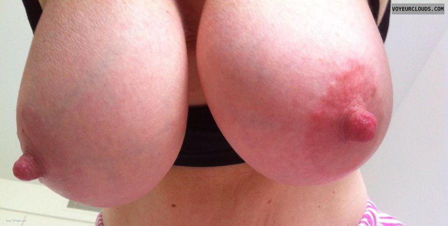 Comp, big nipples, erect nipples, big tits, DD\'s, tit off