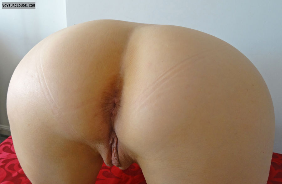 Ass, pussy, close up, cheeks spread, butt