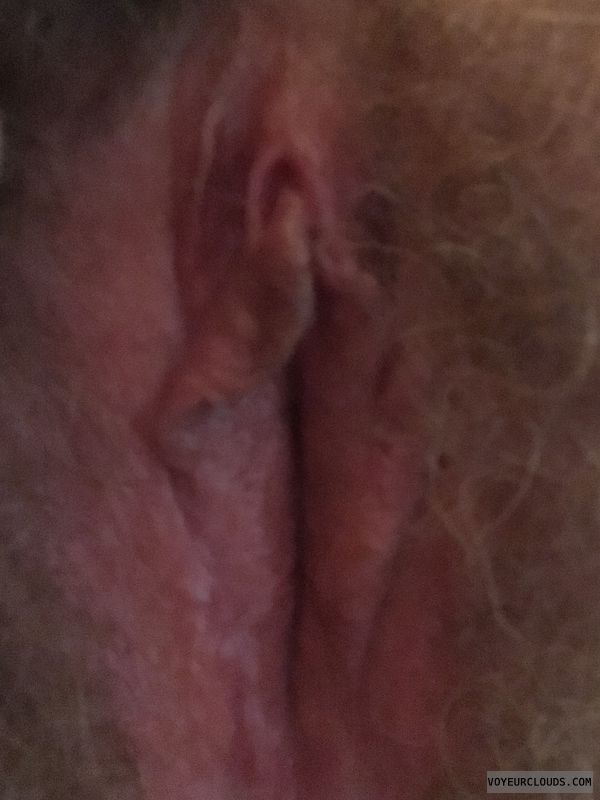 Pussy lips, hairy pussy, flaps, clit, pussy closeup