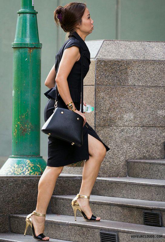 High heels, Legs, Candid, Sexy
