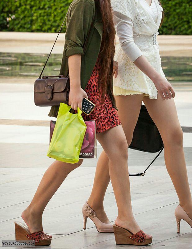 Wedges, legs, heels