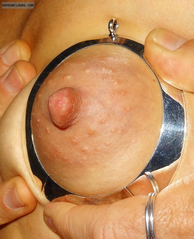 Nipple, Boob, Areola, Areola close up, Jewellery