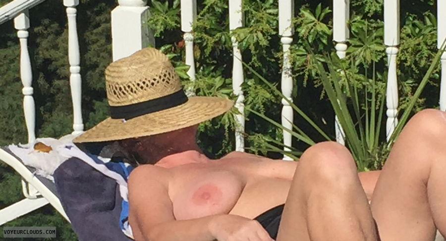 tits, nipples, topless, voyeur