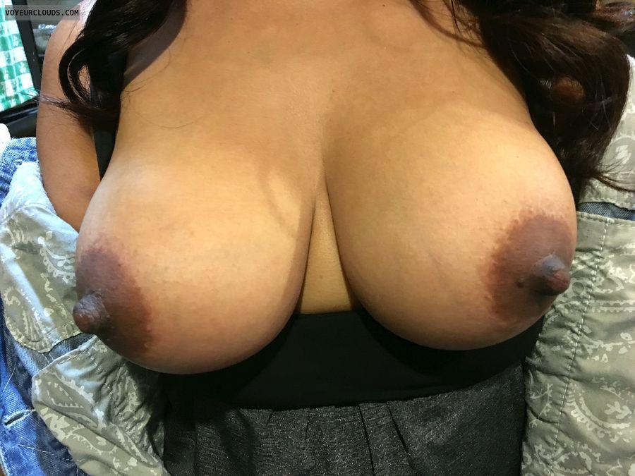 Thick dark nipples