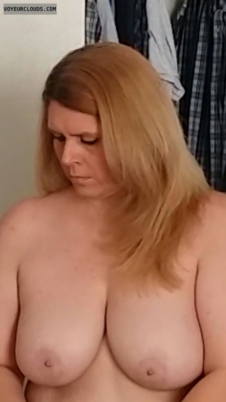hard nipples, big boobs, Big tits, topless
