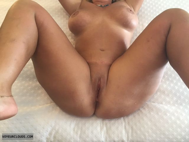 Nude wife, big tits, spread pussy, wife pussy wife pink pussy