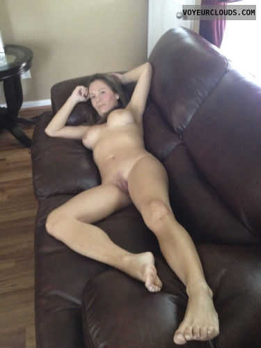 Wife teasing naked