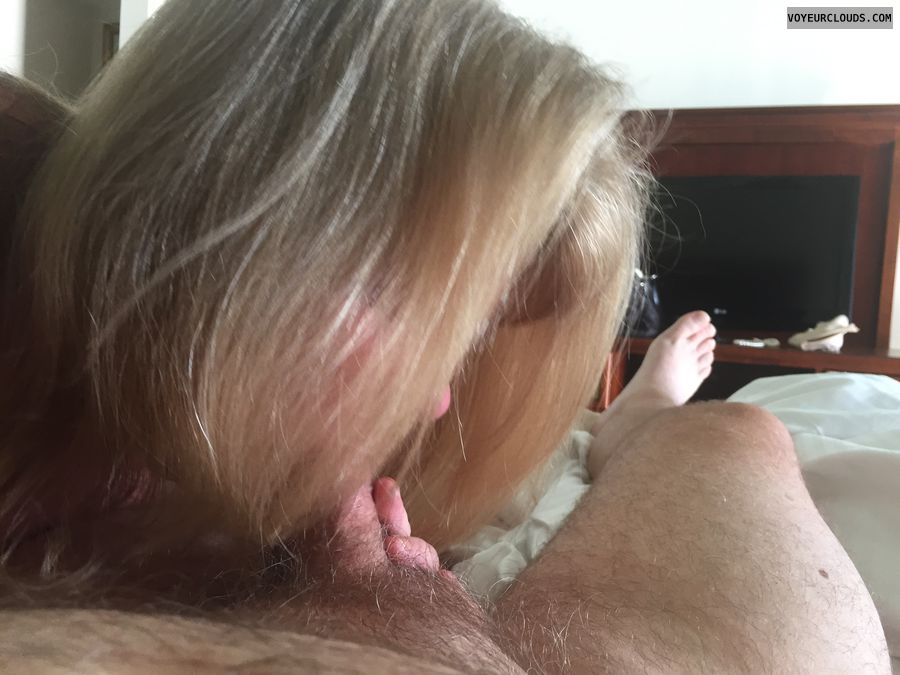 blow job, oral, blonde