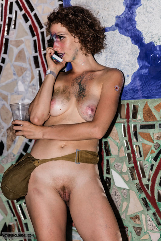 wnbr, trimmed, shaved, stubble, medium tits