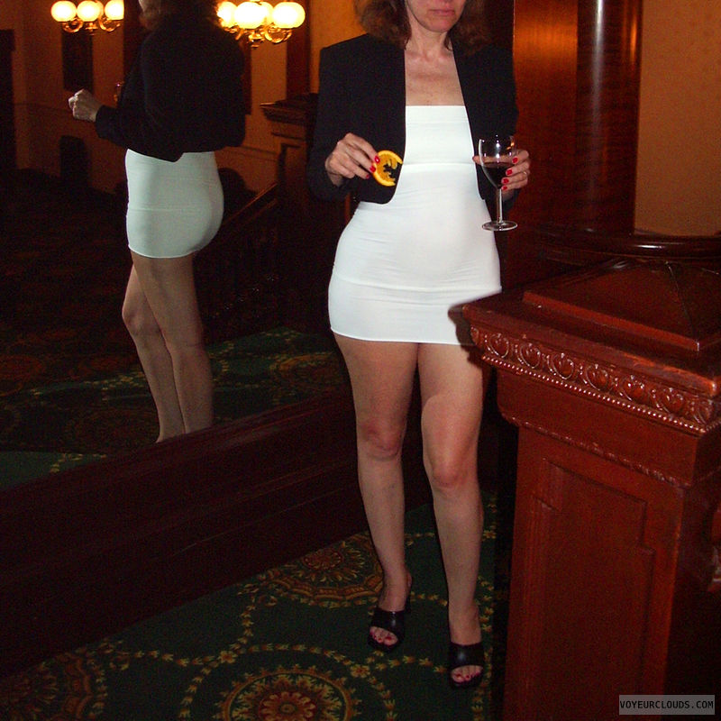 Sexy Legs, Bodycon, Mini Dress, Jacket, Bare Legs