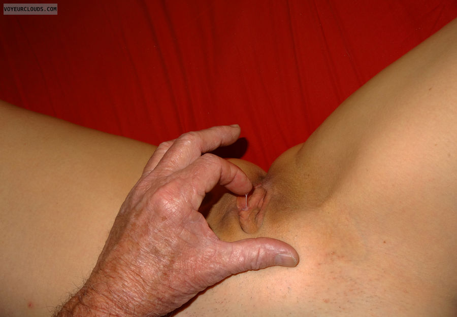 Juicy pussy, Shaved pussy, pussy, finger and pussy