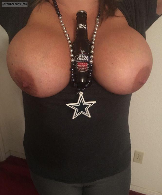 BigTits, hard nipples, horny wife, sexy milf