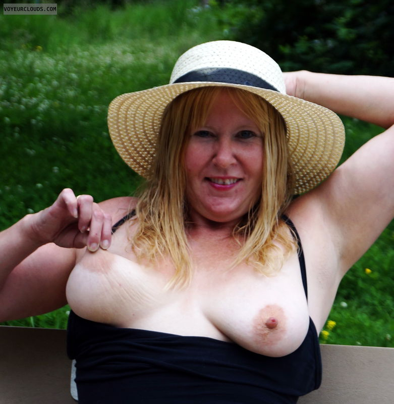 nipples, pulling nipple, top down, big nipples