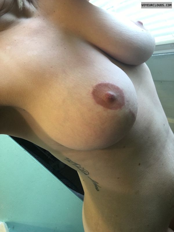 Nude wife, Petite, natural tits, wifes tits, large natural tits