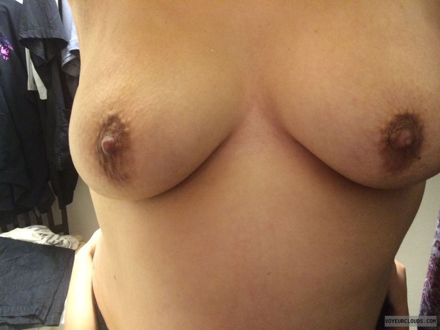 Latina boobs, Big natural, milf tits, hard nipples