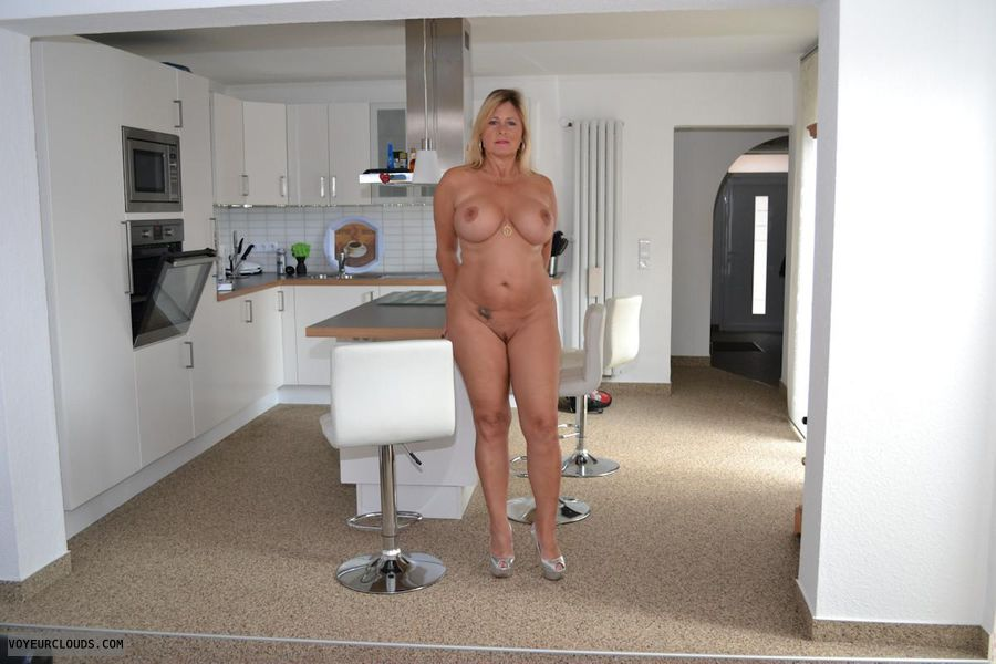 nudist, shaved pussy, big boobs, big tits, hard nipples