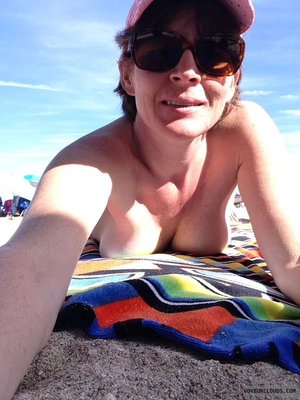nude beach, boobs, beach, tits