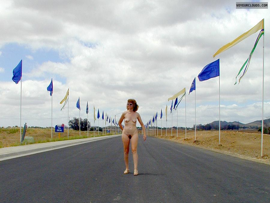 Nude in Public, Exhibitionist, Nude Wife, Nude Milf
