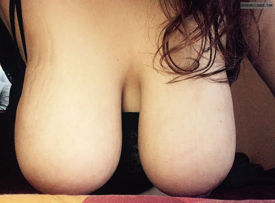 hangers, big boobs, big tits, long hair
