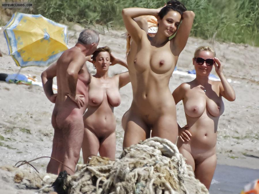 Fkk beach voyeur